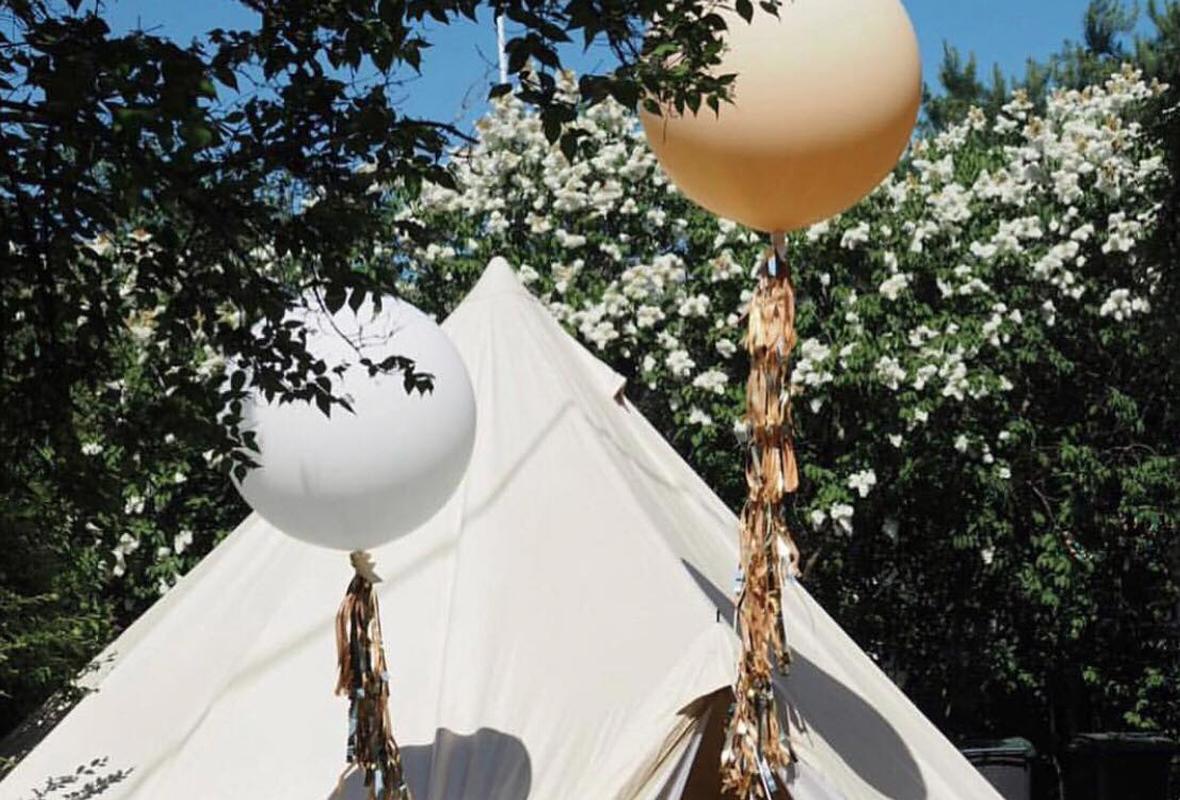 Garden pop up festival