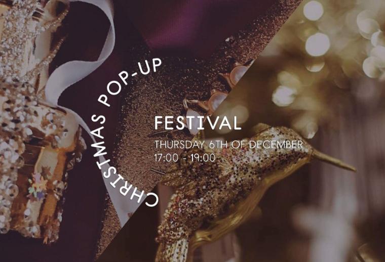Christmas pop up festival